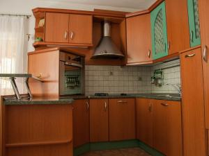 A kitchen or kitchenette at Apartmaji Nataša
