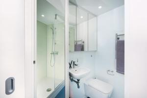 Salle de bains dans l'établissement Euston Studios