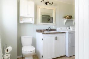 Een badkamer bij paradissurterre