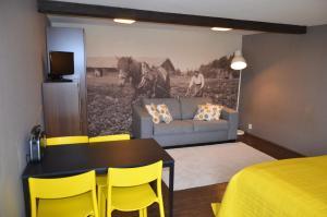 Oleskelutila majoituspaikassa Tammiston Apartments