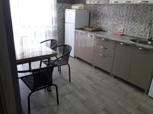 A kitchen or kitchenette at Alex's Apartment on Chavchavadze