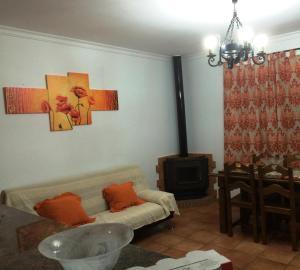 Zona de estar de Villa Gallardo