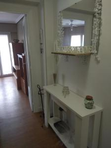Un baño de Apartamento Ezkubenea
