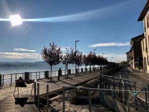 La Via degli Artisti during the winter