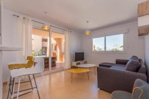 A seating area at Mar Menor Golf Resort Casa Di Valentina