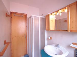 A bathroom at Locazione turistica Salita Bellavista
