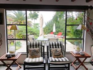 A seating area at Holiday Home Casita del Palmeral