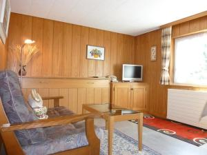 Télévision ou salle de divertissement dans l'établissement Apartment Sonnenboden