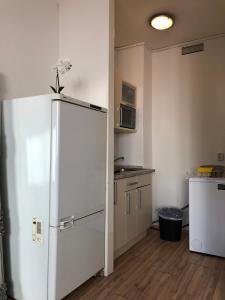Küche/Küchenzeile in der Unterkunft STARS Apartments Berlin Schöneberg