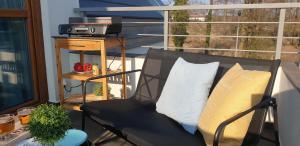 Et sittehjørne på Apartament Comfort