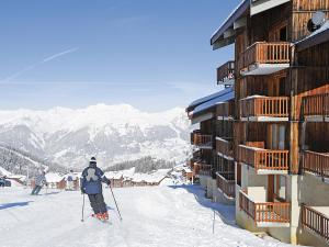 Skiing at the condo hotel or nearby