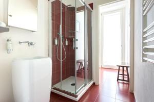 A bathroom at Villa Jejia