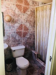 A bathroom at Apartamento Independiente