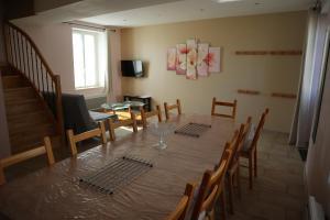 Restaurant ou autre lieu de restauration dans l'établissement Gîtes De Saint Rémy