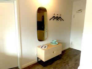A bathroom at lille stuuv @K1-Sylt