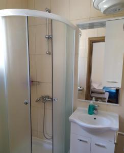 A bathroom at Apartmani Jopi