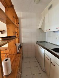 A kitchen or kitchenette at Frontera Blanca