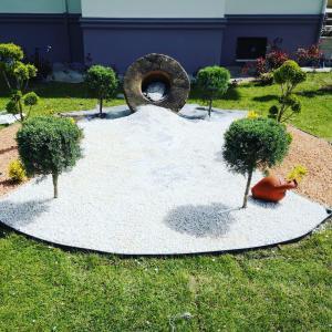 A garden outside Ates Konaklari