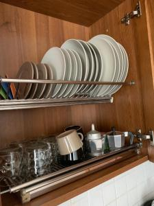 A kitchen or kitchenette at Tuscany