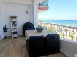 A balcony or terrace at Apartamento Maki