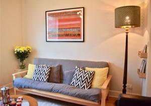 Ein Sitzbereich in der Unterkunft 3 Bedroom House by William Clarke Park