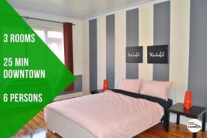 Rita 3 Bedroom Apartment Côte-des-Neiges 20 mins to Downtown