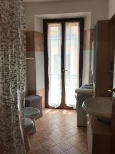 Koupelna v ubytování Al Varrone