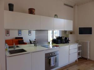 Cucina o angolo cottura di Coquet appartement centre-ville - Carré d'or