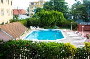 The swimming pool at or near Monteray Apartment Hotel