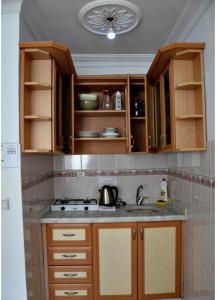 Küche/Küchenzeile in der Unterkunft Side Apart Hotel