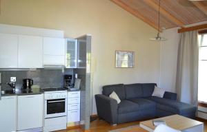 A kitchen or kitchenette at Saimaa Style Spa Chalet