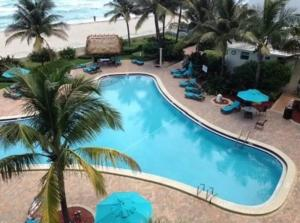 A view of the pool at Lovely 2br/2 bath Hollywood Beach!!! or nearby