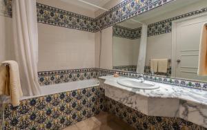 Vannas istaba naktsmītnē Le Corail Appart'Hotel Yasmine Hammamet