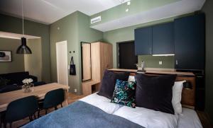 Televizorius ir (arba) pramogų centras apgyvendinimo įstaigoje Frogner House Apartments - Arbins gate 3