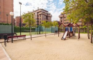 Children's play area at COOL AND CONFORTABLE FLAT NEAR WANDA METROPOLITANO STADIUM