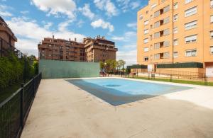 The swimming pool at or near COOL AND CONFORTABLE FLAT NEAR WANDA METROPOLITANO STADIUM