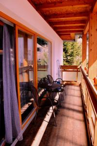 A balcony or terrace at Appartment Brugghof