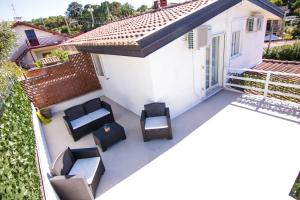 A balcony or terrace at Villetta sul mare in residence