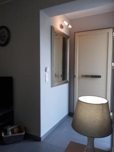A bathroom at Euphoria Skiathos