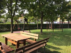 Herní místnost nebo prostor pro děti v ubytování Kristall Lago Residence