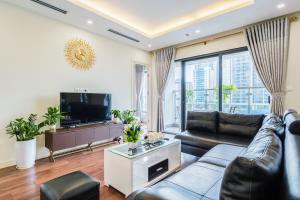 Телевизор и/или развлекательный центр в Vip's Imperia Apartment