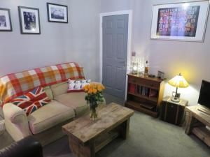 A seating area at Parkside Apartments