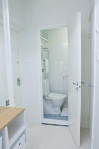 Ein Badezimmer in der Unterkunft Modern and compact apartment in Helsinki city