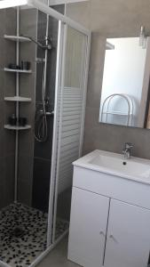 A bathroom at Residence Sejoina
