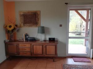 A kitchen or kitchenette at Gorczyca Reset