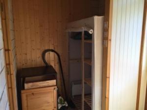 A bunk bed or bunk beds in a room at Apartment F2 proche de la gare avec jardin