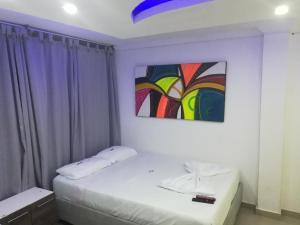 Cama o camas de una habitación en edificio tocore