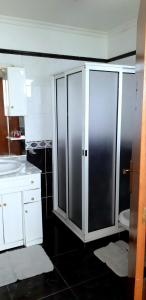 A bathroom at The Dream Apartament