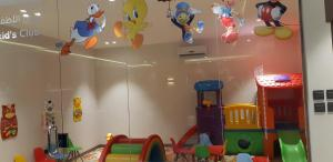 The kid's club at Mera Houses