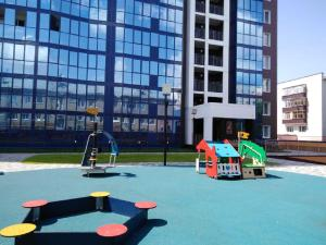 Children's play area at Blue Sky House